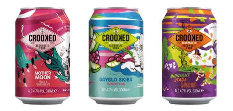 Alcoholic Craft Sodas