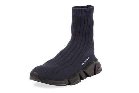 Sock-Like Sneakers - The Balenciaga Speed Trainer Features a Full Sock