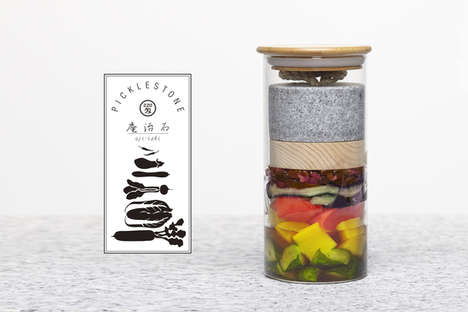 Portable Fermentation Tools - The Picklestone is a Handheld Pickling Kit That Offers Speedy Results