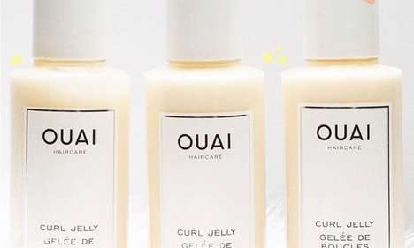 Jelly Curl Enhancers - OUAI's Curl Jelly Enhances, Defines and Protects Curls