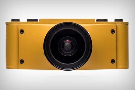 Affordable High End Cameras - The Cycloptic Mustard Monster is Made from Parts of Obsolete Cameras