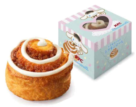 Co-Branded Cartoon Cinnamon Rolls