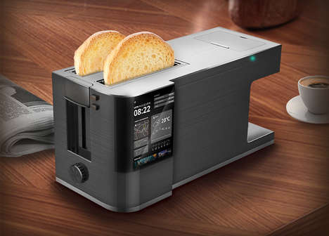 Coffee-Brewing Toasters