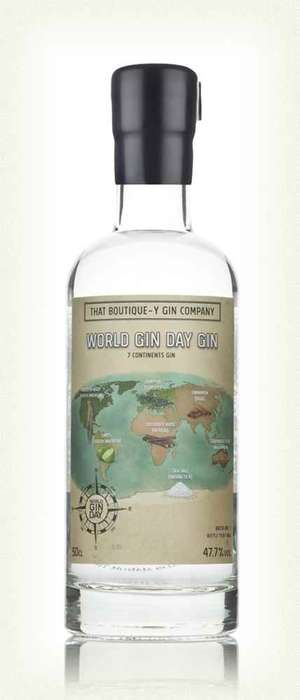 Globe-Branded Gin Bottles - This World Gin Day Spirit Uses One Ingredient from Every Continent