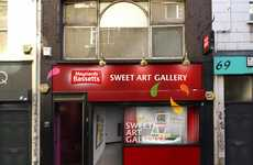 Edible Art Galleries - Maynards Bassetts' 'Sweet Art Gallery' Features Art Made from Candies