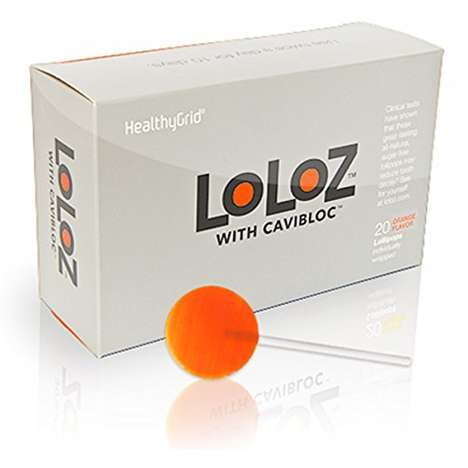 Cavity Prevention Lollipops - The HealthyGrid 'Loloz' Lollipops Provide Protection from Decay