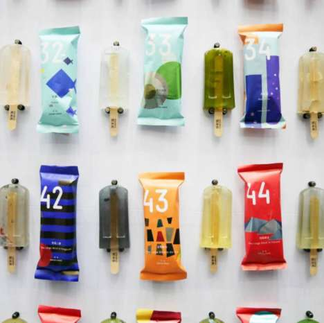 Deceptively Toxic Popsicles - These Student-Created Popsicles are Made Out of Sewage