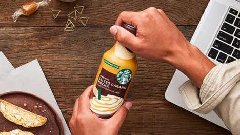 Savory Bottled Coffee Drinks