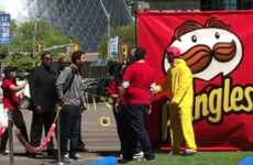 Ketchup Slip-and-Slides - Pringles Set Up a 50-Foot Condiment Slide to Launch a New Flavor