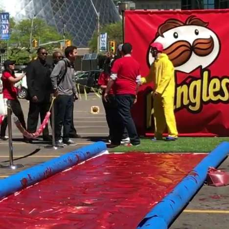Ketchup Slip-and-Slides