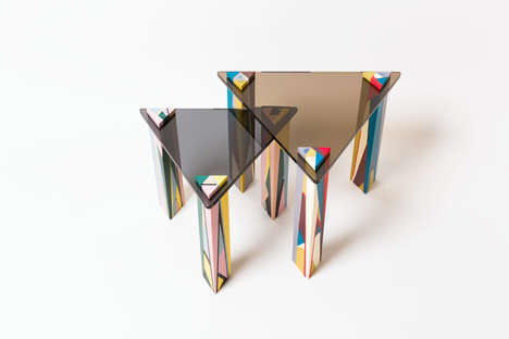 Vibrantly Abstract Tables