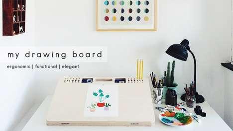 Ergonomic Drawing Boards