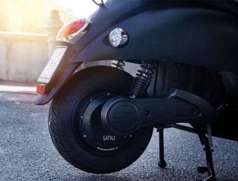 Smart Electric Scooters - The Unu Electric Scooter Delivers Top Speed No Matter the Charge Level