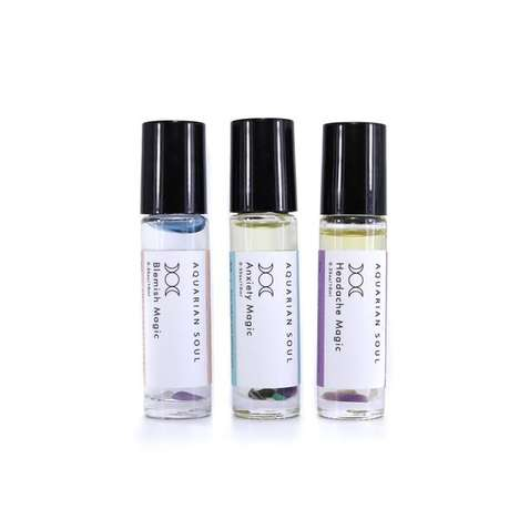 Restorative Oil Kits - Aquarian Soul's 'Magic Remedies Set' Addresses Headaches, Anxiety and More
