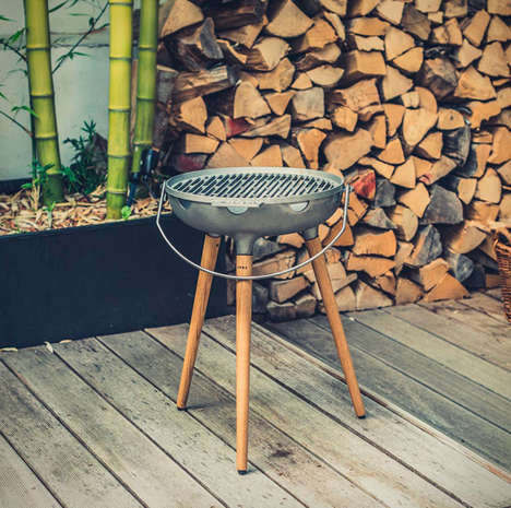 Premium Cast Iron BBQs - The YRON Grill is Crafted from Quality Materials in Germany