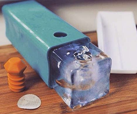 DIY Ice Pipe Molds