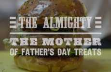 Monstrous Father's Day Burgers - 'The Almighty' Burger is a Meaty Father's Day Treat for Hungry Dads