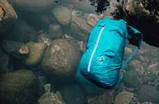 Compact Waterproof Backpacks - The Sea to Sky Pack is Waterproof and Can Fold into Your Back Pocket