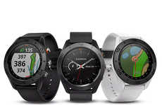 Swing-Analyzing Golf Smartwatches - The Garmin Approach S60 Smartwatch is Stylish and Advanced