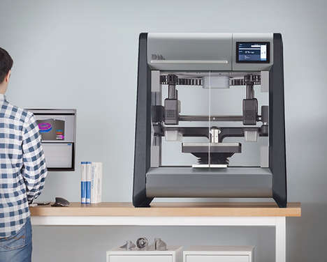 Metal Manufacturing 3D Printers - The 'Desktop Metal' 3D Printer Creates Prototypes Inexpensively
