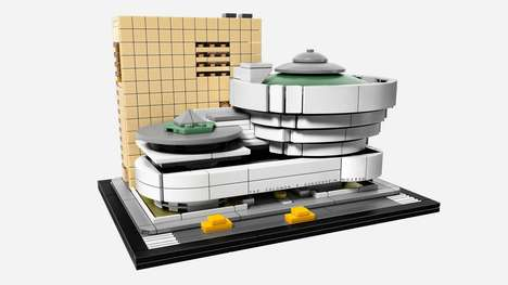 Museum-Inspired LEGO Kits - The LEGO Guggenheim Museum Kit Celebrates the Architect's 150th Birthday