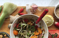 Fermented Tea Salad Kits - The Lost Tea Company is Introducing Asian Tea Leaf Salads to the UK