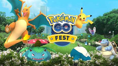 Creature-Catching Game Events - The Pokémon GO Fest Celebrates Several Milestones