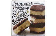 Brownie Ice Cream Sandwiches - Trader Joe's Newest Frozen Dessert Puts a Twist on a Summer Classic
