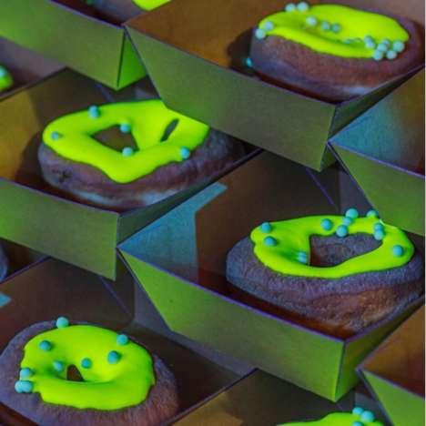 Green Glowing Desserts