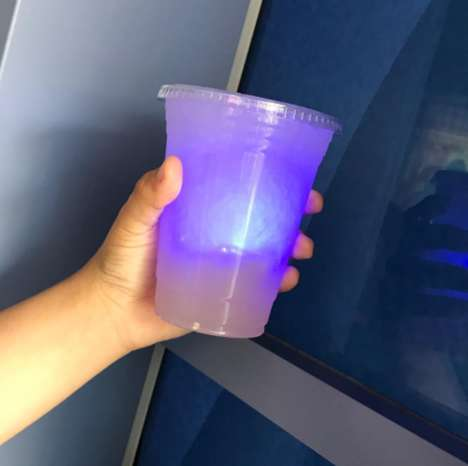 Glowing Lavender Lemonades - Disneyland Now Serves a Glowing Infinity-Ade