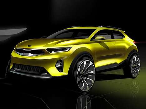 Upscale CUV Concepts - The Kia Stonic Previews the Brand's New European-inspired Compact Crossover
