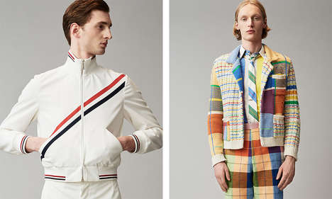 Vivid Gentlemanly Apparel - The New Thom Browne Collection Boasts Playful Colorways and Classic Cuts