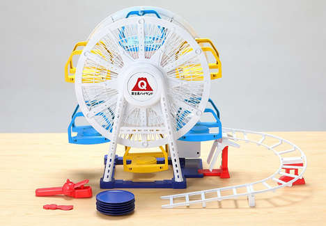 Sushi Ferris Wheels - Japanese Toy Manufacturer Takara Tomy Created a Mini Sushi Ferris Wheel