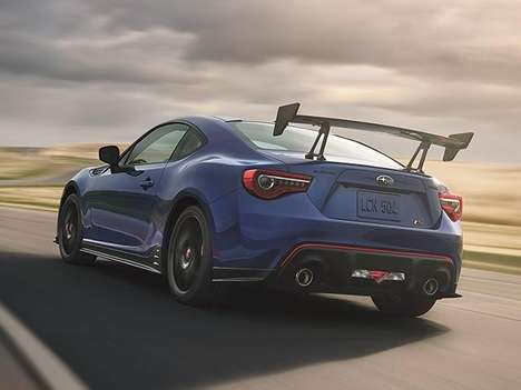 Downforced-Focused Sport Cars - The Subaru BRZ tS is Limited to 500 Units and Built for Track Days