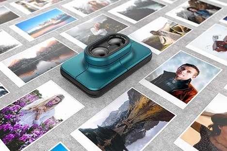 Dual-Lens Instant Cameras - The 'Print' Concept Instant Camera Snaps and Produces Pictures