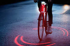 Space-Highlighting Bike Lights