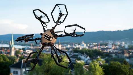 360-Degree Rotation Drones - The Voliro Multicopter Drone is Capable of Performing Complex Tricks