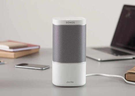 Speaker-Upgrading Devices