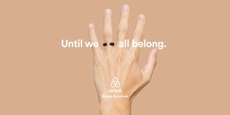 Marriage Equality Ring Campaigns - The Acceptance Ring Sold By Airbnb Promotes Marriage Equality