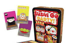 Sushi-Themed Strategy Games - 'Sushi Go Party!' is an Award-Winning Family Pick and Pass Card Game