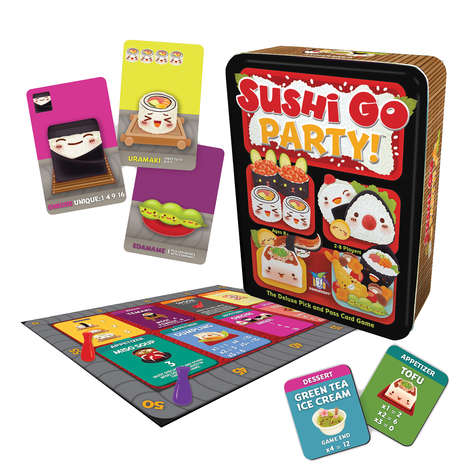 Sushi-Themed Strategy Games