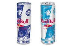 Collaborative Energy Drink Cans - Red Bull Created Limited-Edition Cans with the Gorillaz