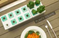 Modular Hydroponic Kits - Planty Square is Able to Grow and Take Care of House Plants