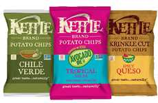 Mexican Cuisine-Inspired Chips - These Kettle Brand Chips are an Exceptionally Flavorful Snack