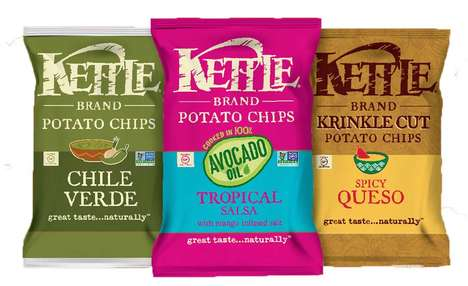 Mexican Cuisine-Inspired Chips