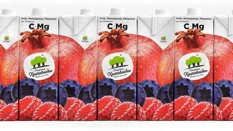 Interconnecting Juice Packaging