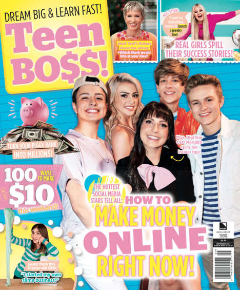 Gen Z-Targeted Magazines - 'Teen Boss' is a Newly Launched Entrepreneurial Magazine for Generation Z