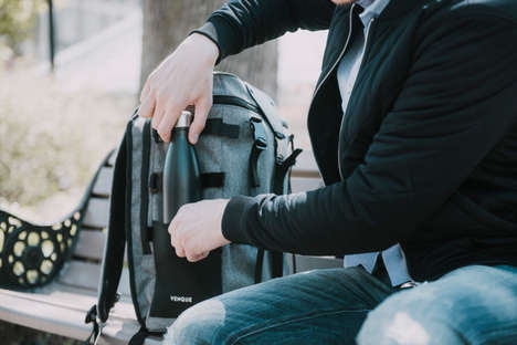 Modular Utility Backpacks - The 'Transformer A' by VENQUE is a Modular Backpack for Every Occasion