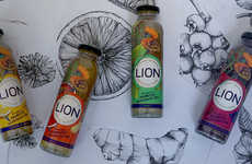 Prebiotic Dandelion Teas - LION's Botanical Beverages Boast Benefits for the Liver and Digestion