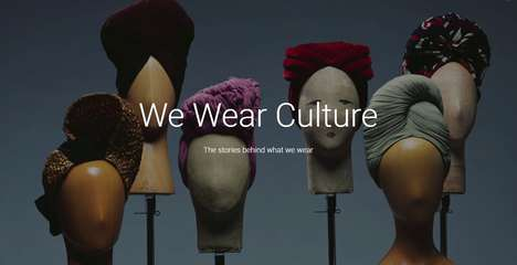 Fashion History Databases - Google's 'We Wear Culture' is a Searchable Collection of Fashion History